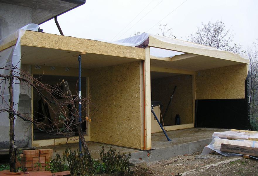 Ampliare casa con struttura in legno beautiful in legno di un edificio in svizzera realizzata - Ampliare casa con struttura in legno ...